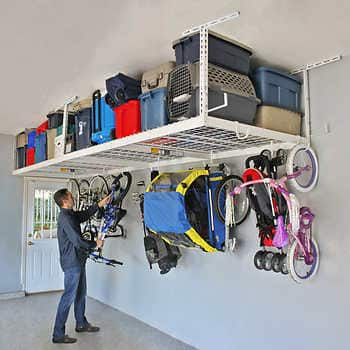 costco members saferacks overhead garage storage combo kit expired