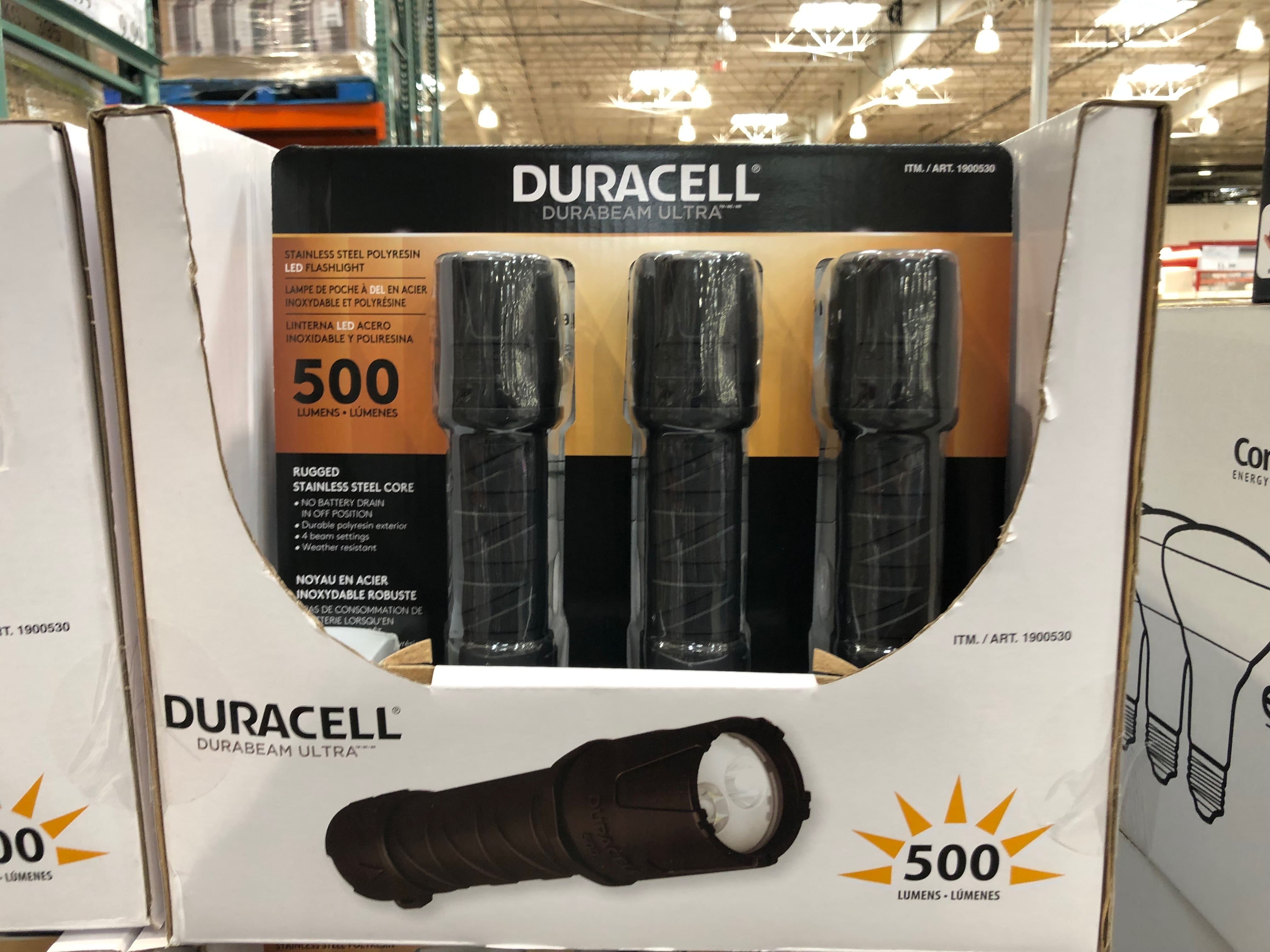 costco members duracell 500