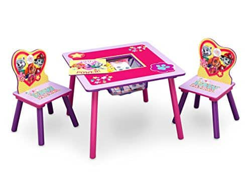 walmart table and chair sets lawn covers amazon nickelodeon paw patrol skye everest chairs set slickdeals net deal image