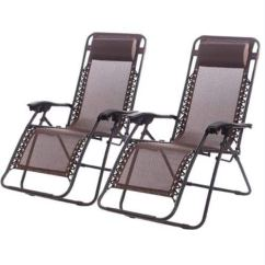 Zero Gravity Chair 2 Pack Walking Stick Malaysia Lounge Patio Chairs Slickdeals Net Deal Image