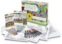 Add-On Item: Crayola Adult Coloring Book & Marker Art ...