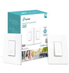 tp link 3 way wifi smart light switch easy in wall installation kit light switch home wiring diagram tp link switch light wiring [ 1500 x 1500 Pixel ]