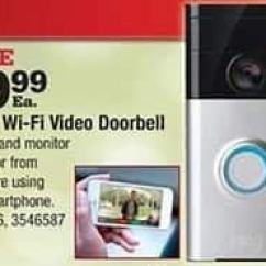 Ring Doorbell For Sale 1997 Jeep Tj Radio Wiring Diagram Ace Hardware Black Friday Wi Fi Video 99