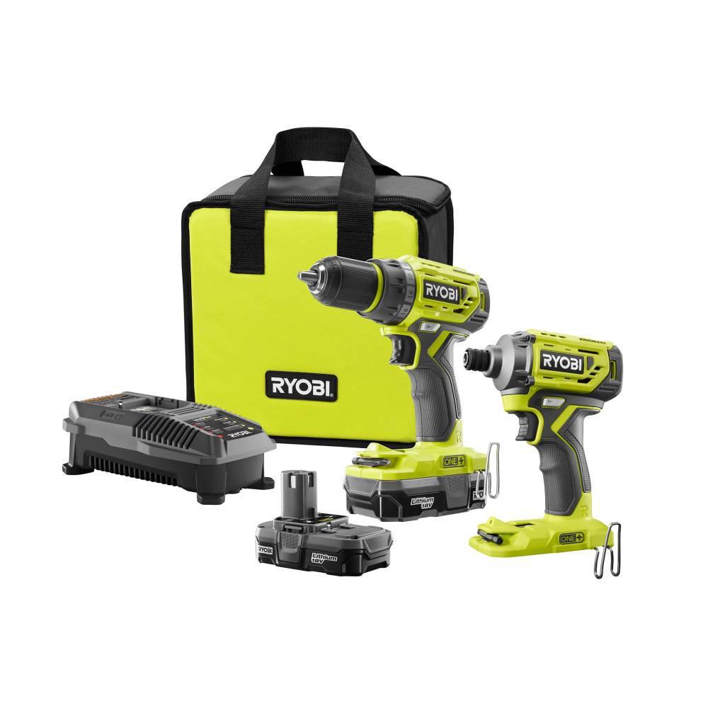 Ryobi 18v Hammer Drill Kit
