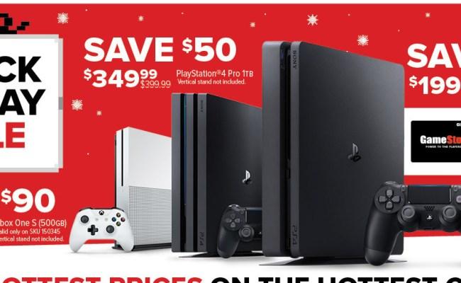 Gamestop Black Friday Playstation 4 1tb Console 50