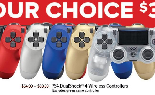 Gamestop Black Friday Ps4 Dualshock 4 Wireless Controller