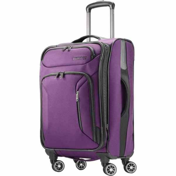 American Tourister Zoom Expandable Softside Spinner Luggage 25