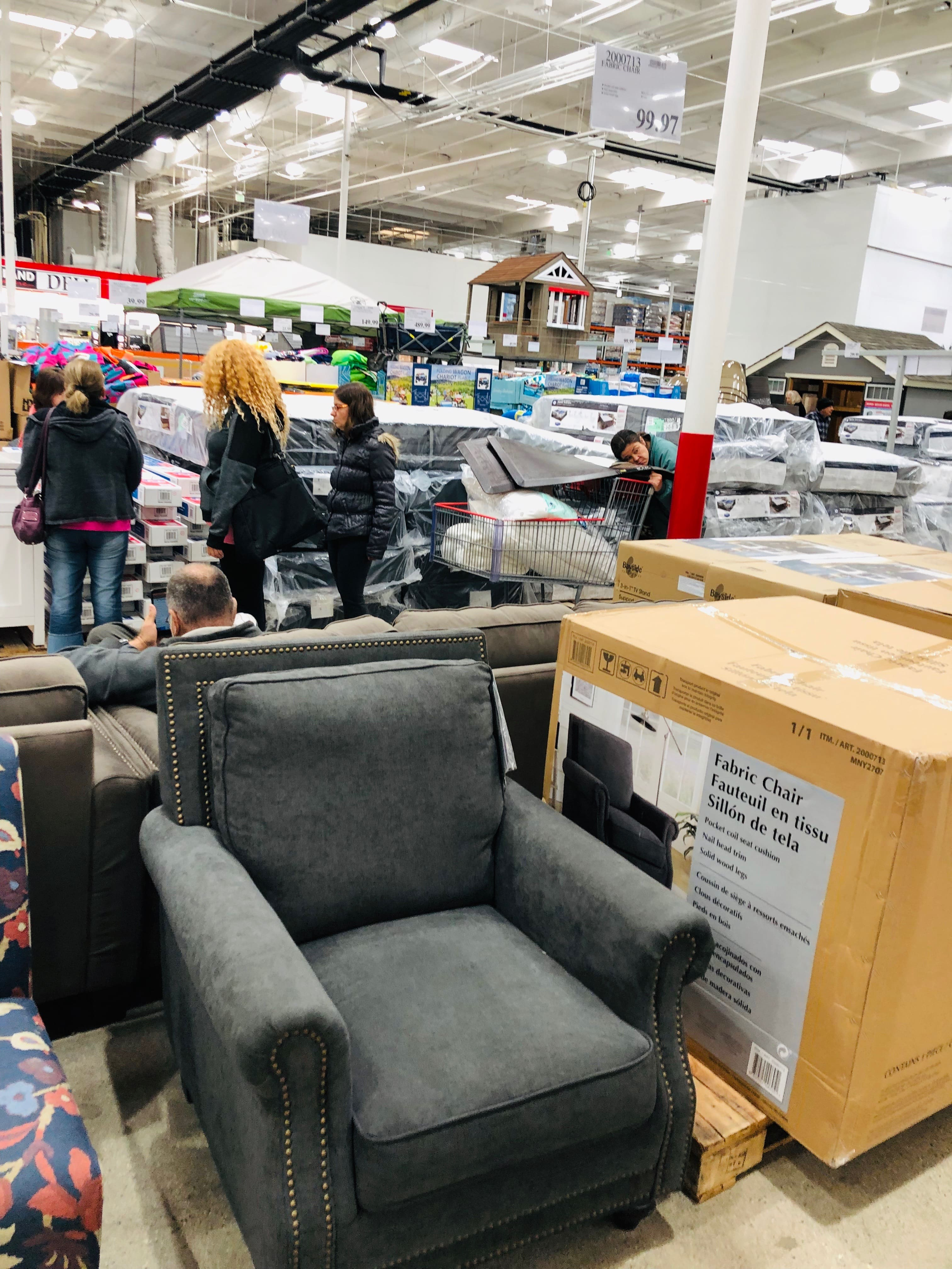 costco in store furniture on clearance