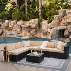 Sectional Sofa Deals Free Shipping Mini Bedroom 7 Piece Outdoor Wicker W Table Slickdeals Net Deal Image
