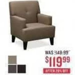 Value City Furniture Accent Chairs Maccabee Double Folding Black Friday Avalon Chair For 119 99