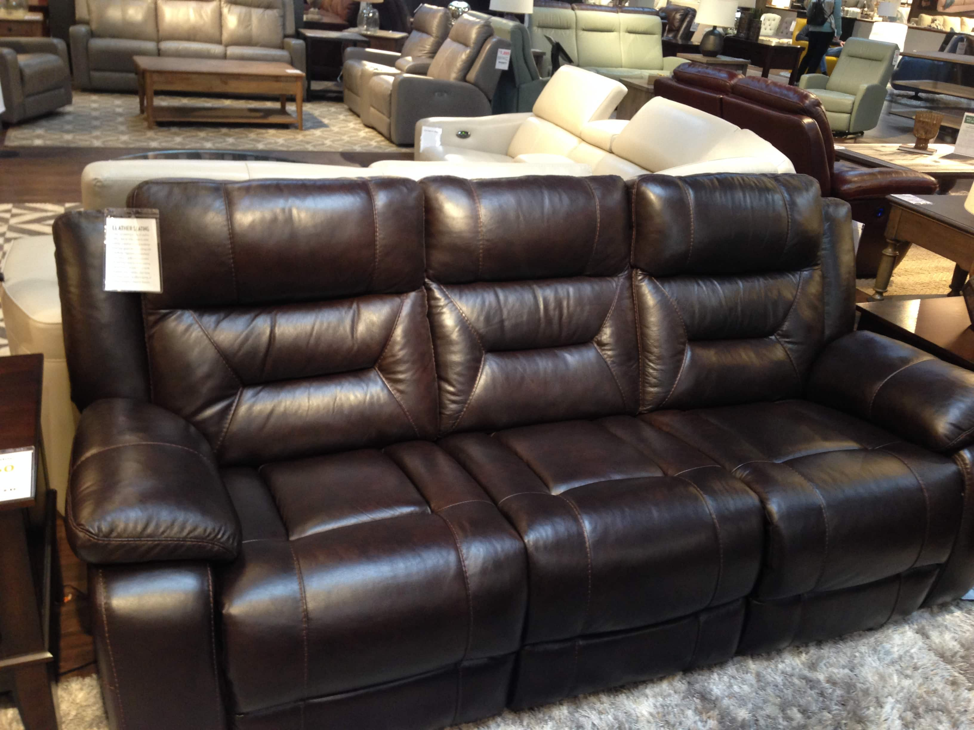 costco leather chairs folding bowl chair pulaski sofa and love seat for 1500 plus