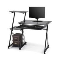 Brenton Studio Limble Glass Computer Desk, Black $74.99 ...