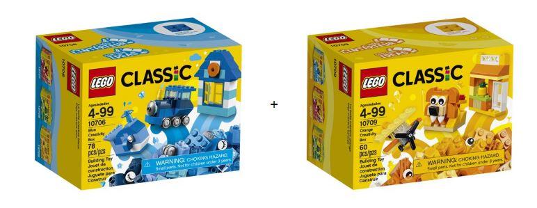 2 pack lego classic