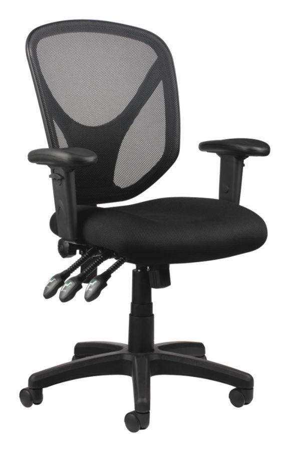 brenton studio task chair white wood dining chairs realspace mftc 200 multifunction ergonomic super 62 limble cherry desk 41 fennington high back bonded leather