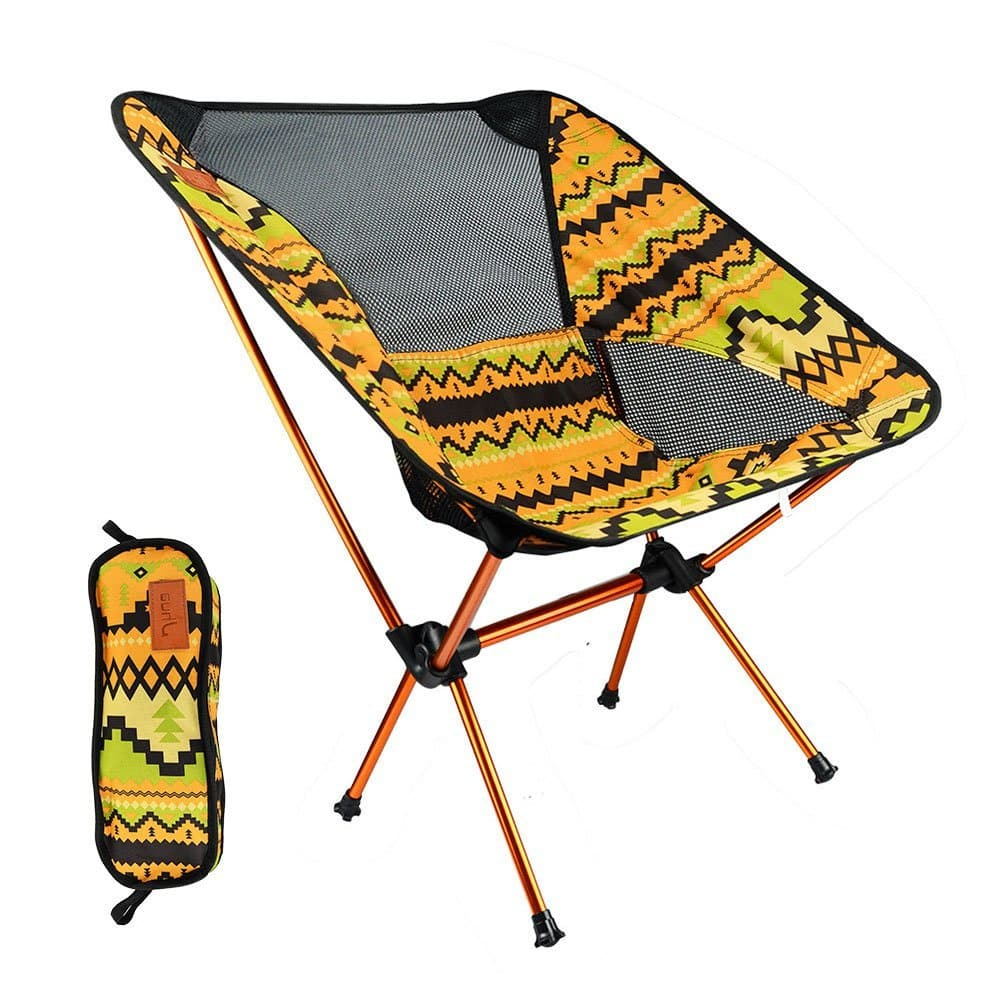 lightweight folding chairs hiking desk chair good for back jhua outdoors foldable portable sturdy aluminium alloy fishing with carry bag fish camping beach road trip
