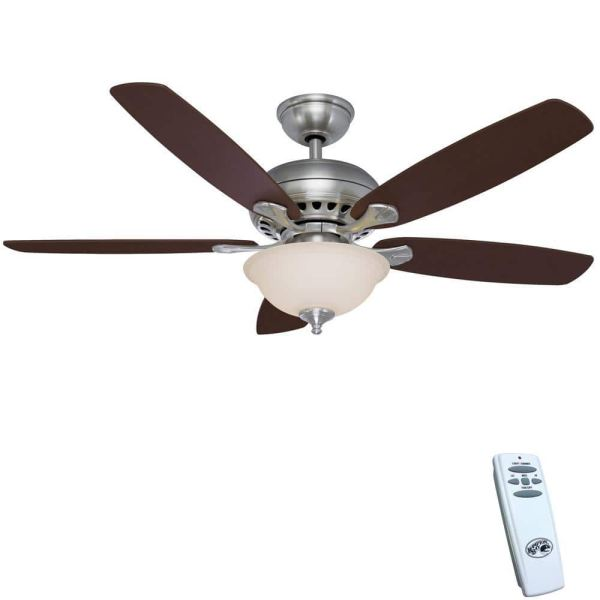"""Hampton Bay Southwind 52"""" Led Indoor Ceiling Fan With Light"""