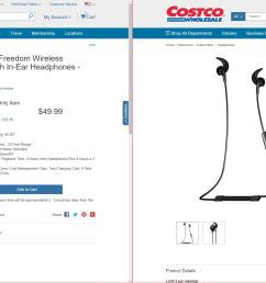 costco online jaybird freedom 2 49 99 members only free shipping page 3 slickdeals net [ 3439 x 1289 Pixel ]