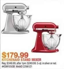 macys kitchen aid corner upper cabinet macy s black friday kitchenaid ksm105gbc stand mixer for 179 99