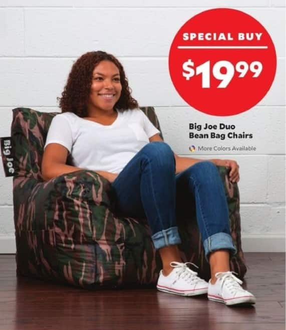 black friday bean bag chairs best reddit academy sports outdoors big joe duo for 19 99