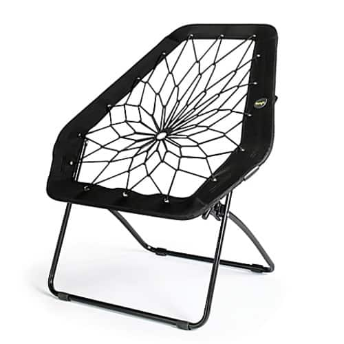 bungee chair weight limit wood table metal chairs bunjo oversized in black 9 99 slickdeals net