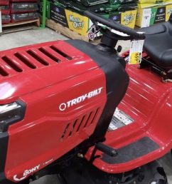 troy bilt pony 17 5 hp manual gear 42 in riding lawn mower 659 [ 1236 x 696 Pixel ]