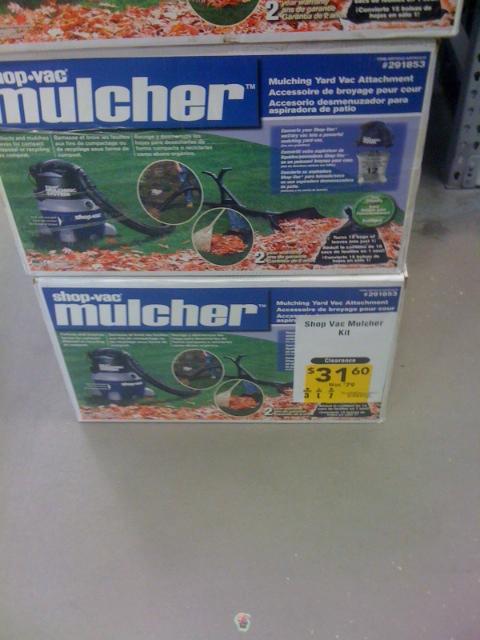 Lowes Leaf Mulcher