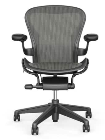 aeron chair sale spandex covers banquet herman miller 15 off extra 5 deal image