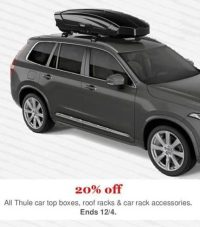 REI Cyber Monday: All Thule Car Top Boxes, Roof Racks and ...