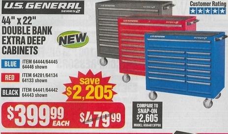 Us General Tool Cart Coupon