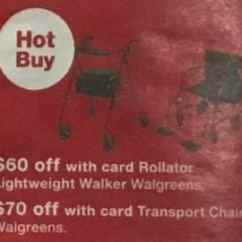 Transport Chair Walgreens Covers For Hire Randburg Black Friday 70 Off