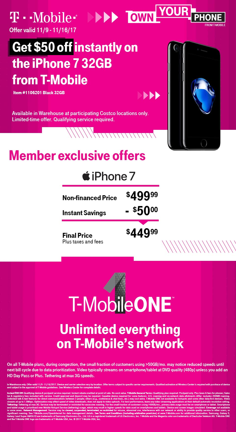 t mobile iphone 7