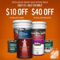 Behr 5 Gallon Ceiling Paint  Shelly Lighting
