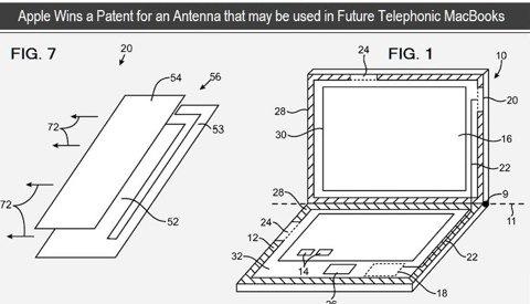 Un nuovo brevetto per l'antenna 3G su MacBook Pro