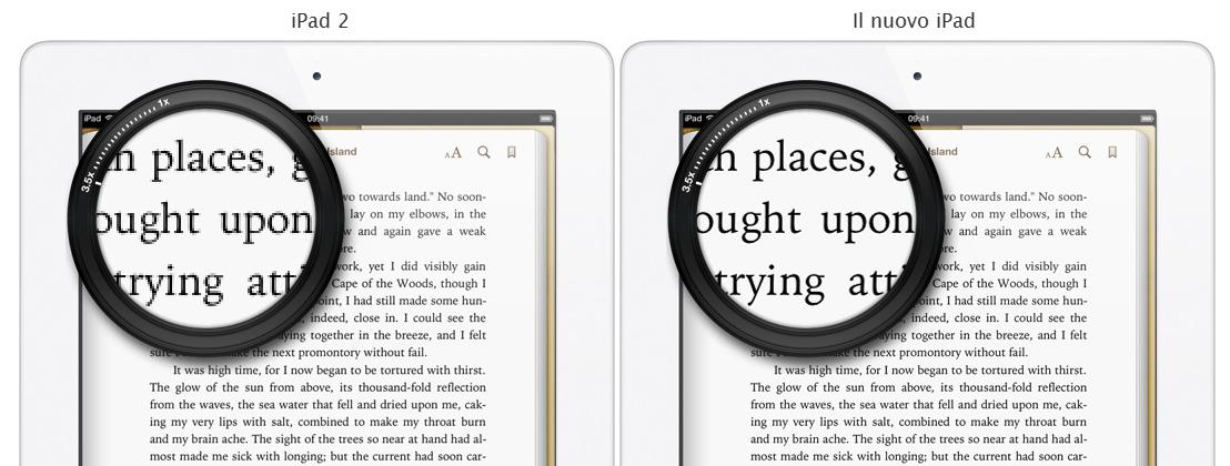 Nuova pagina sul sito Apple per interagire con il Retina