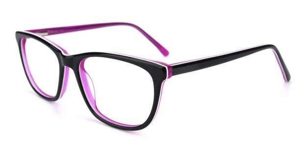 Emblem-Purple-Square / Cat-Acetate-Eyeglasses-additional1