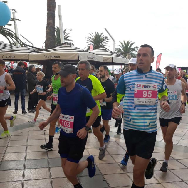 Start polumaratona i maratona