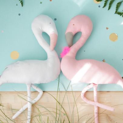 Decorative Flamingo White Scalaë
