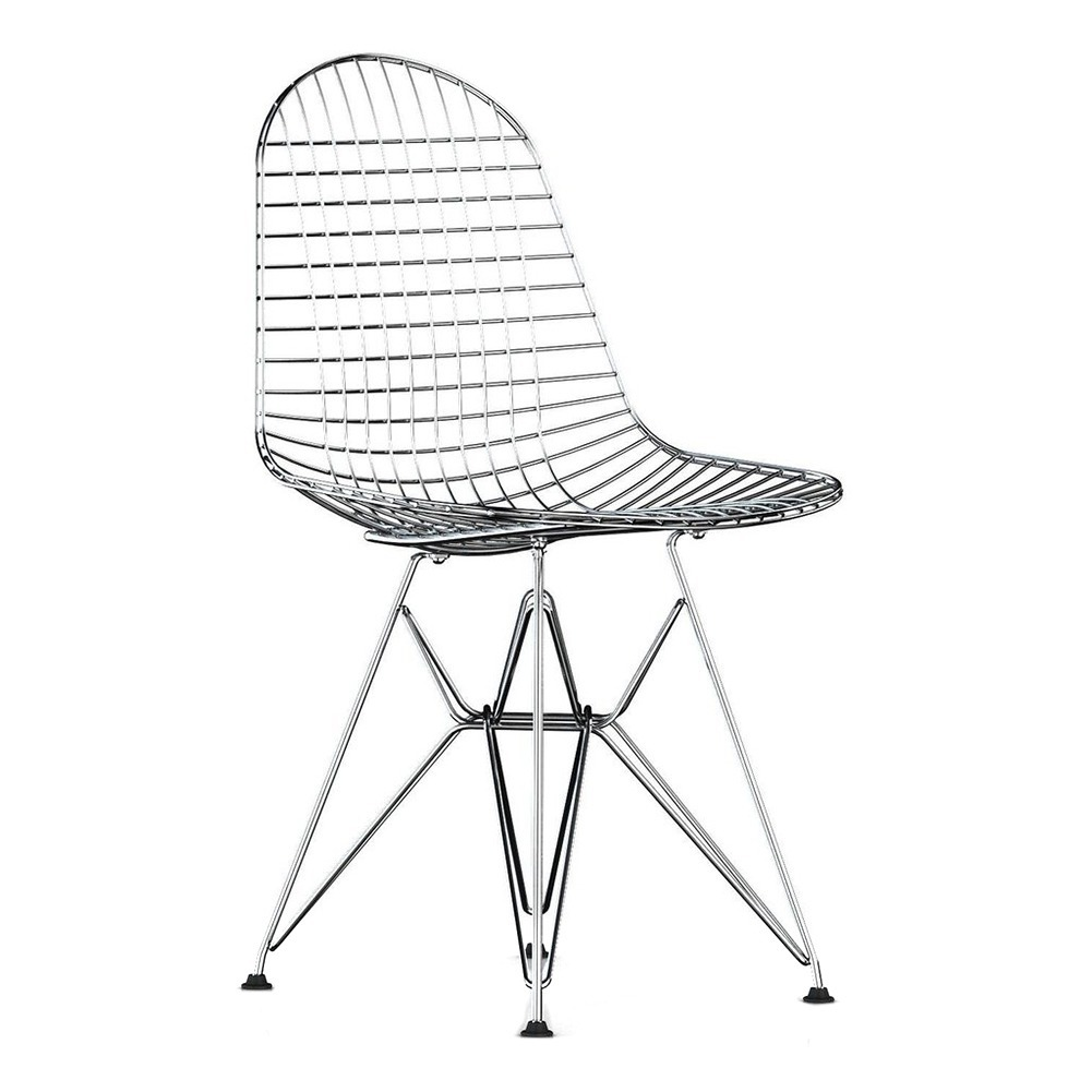 Eames Wire Chair Wire Chair Drk Charles Ray Eames 1951 Chrome Vitra Design