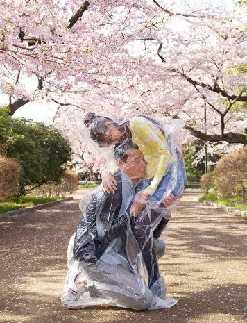 """1506568533245318 - """"딱 붙어 있을거야"""" 일본에서 화제 된 '진공 포장' 커플 사진"""