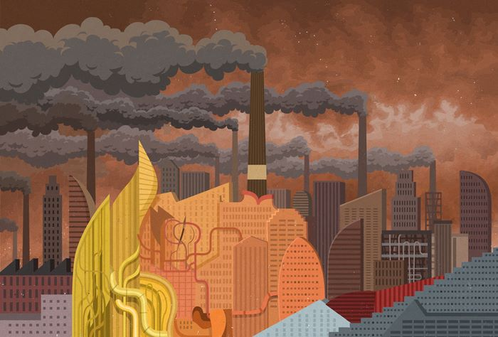 todays problems illustrations john holcroft 57 593113ef9f0f2 700 - 현대 사회의 '어두운 면'을 소름끼치게 표현한 일러스트 23장