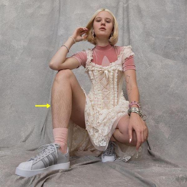 脚の除毛を拒否したモデルに非難と性暴力脅迫か?