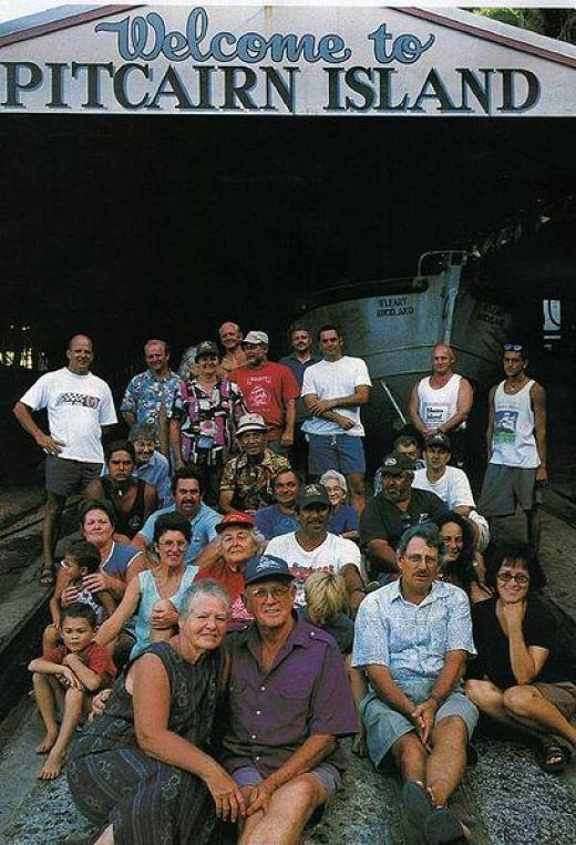 Image result for only 50 people pitcairn