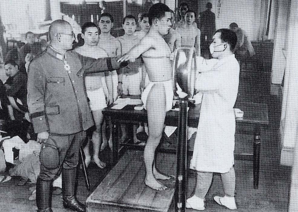 Image result for 軍人 昭和初期 徴兵検査