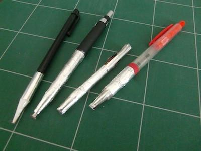 タッチペン 自作 アルミホイル