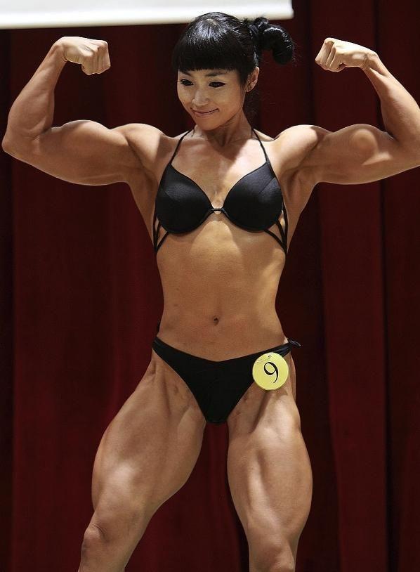 asian woman bodybuilder에 대한 이미지 검색결과