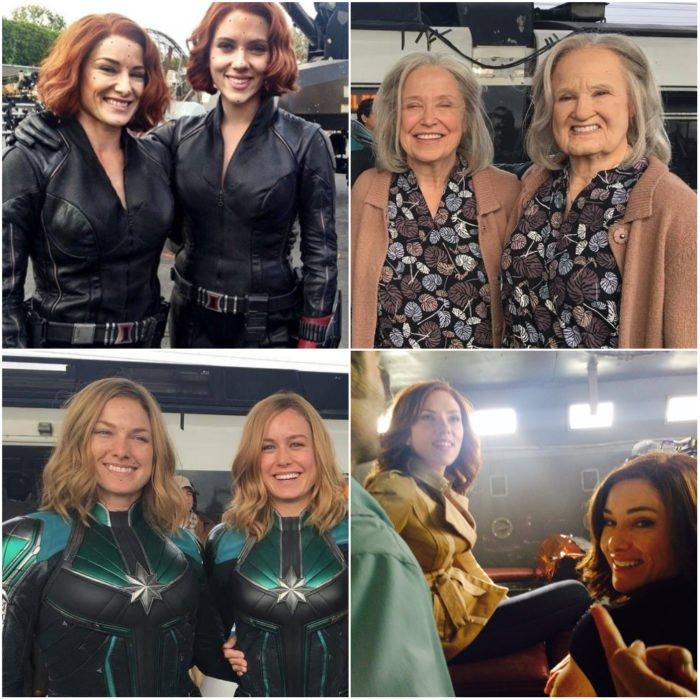 Heidi y Renae Moneymaker dobles de acción para películas de Marvel