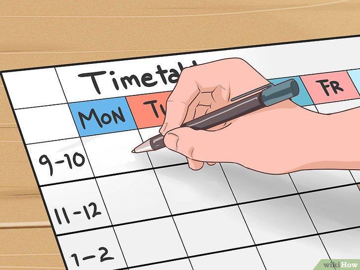 Resultado de imagen de hacer un horario