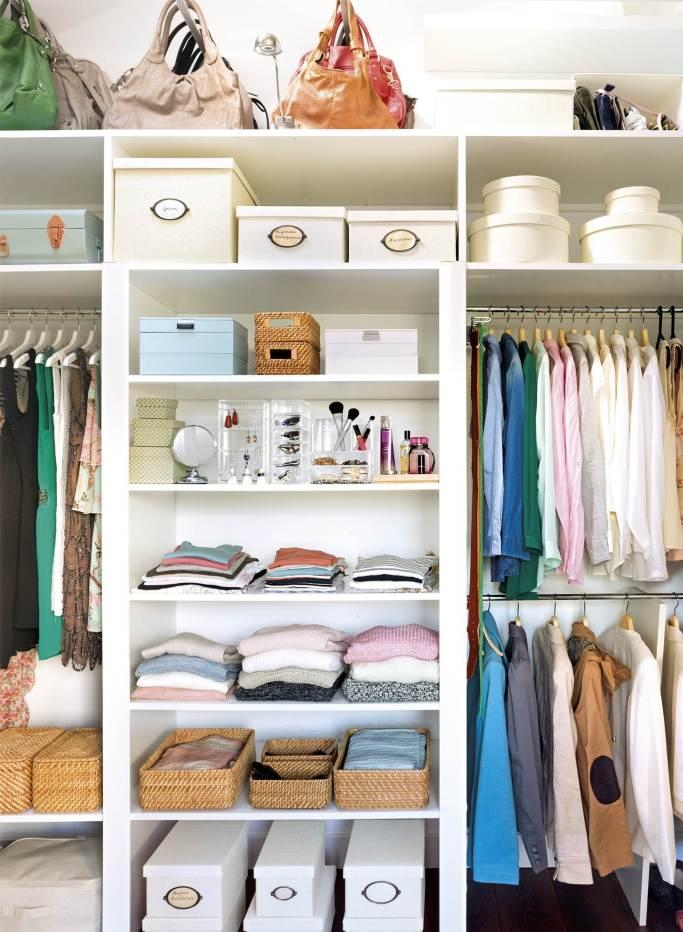 Resultado de imagen de decorar y ordenar armario
