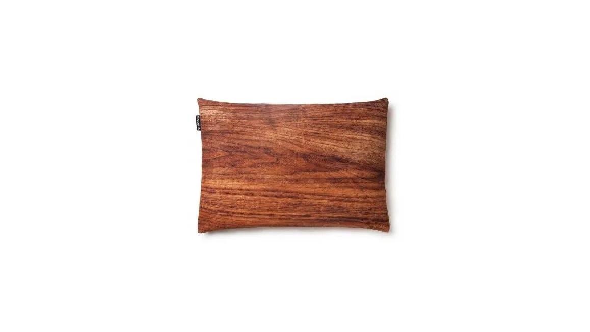 SNURK Hout kussenhoes  uniek houtdesign  Smulderstextielnl