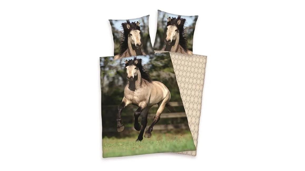 Paard dekbedovertrek  100 katoen  Smulderstextielnl